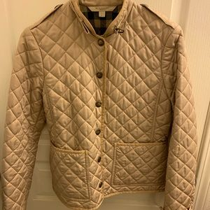 BURBERRY BRIT QUILTED JACKET WOMENS S